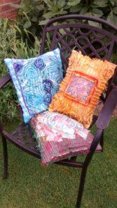 Chenille cushions LPMob 019